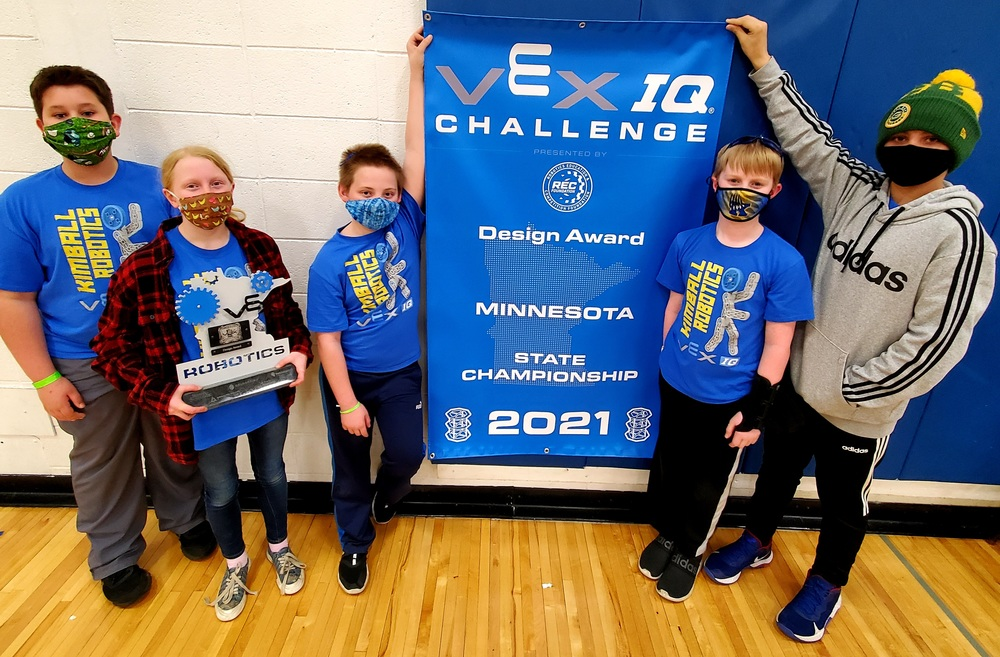 Kimball Vex IQ Has Strong Showing at State Championships