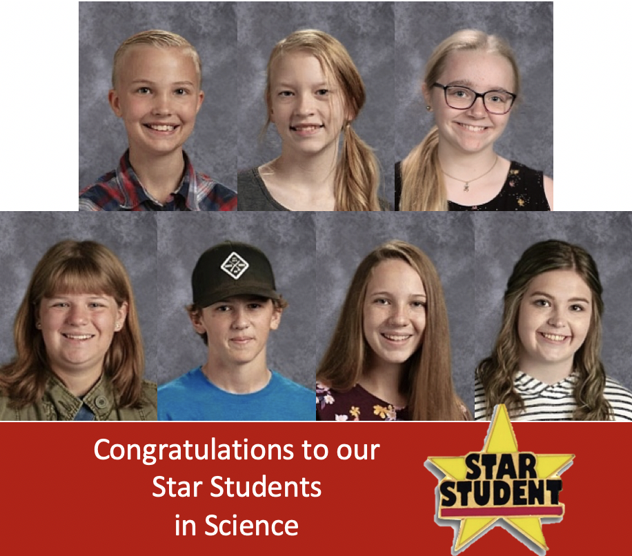 Science Star Students