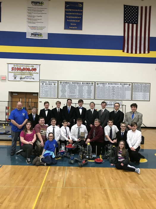 Kimball VEX Robotics Team 2018-19