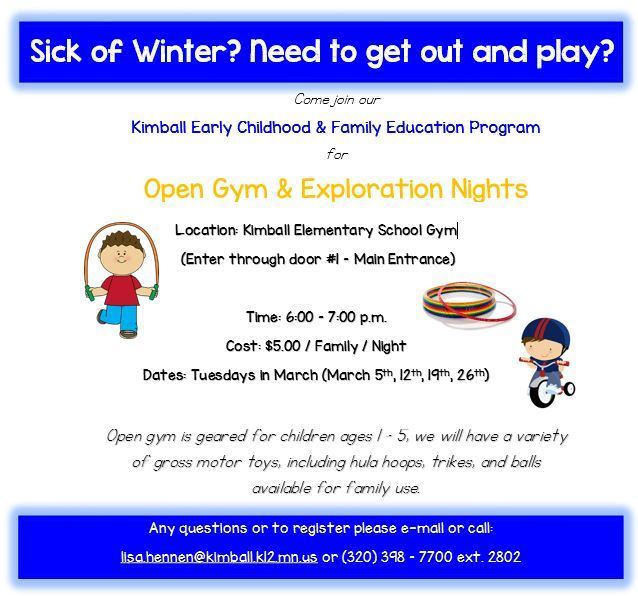 Open Gym Early Childhood