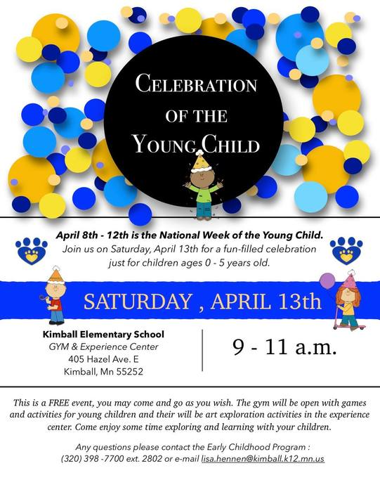 Celebration of the Young Child Flyer