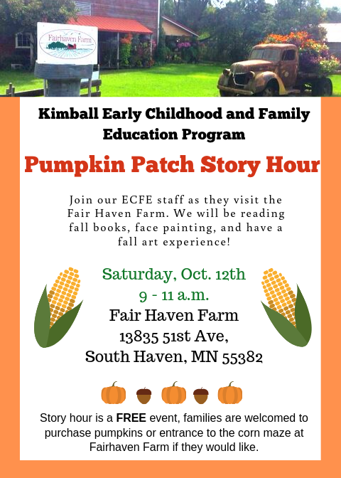 Pumpkin Patch Story Hour