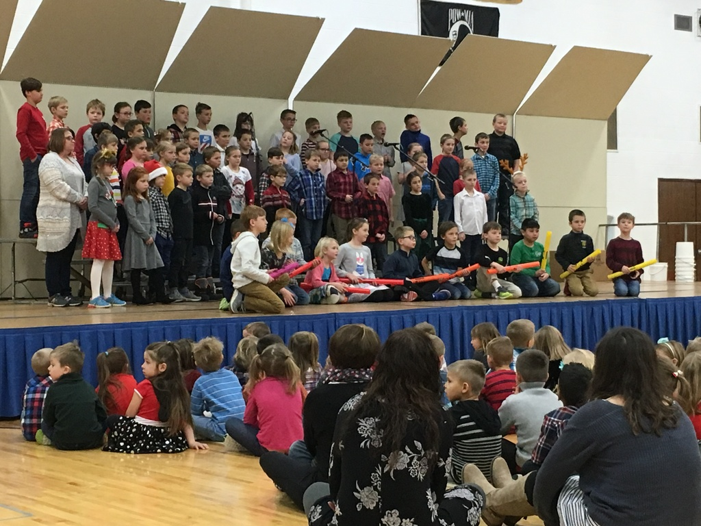 K-3 holiday concert