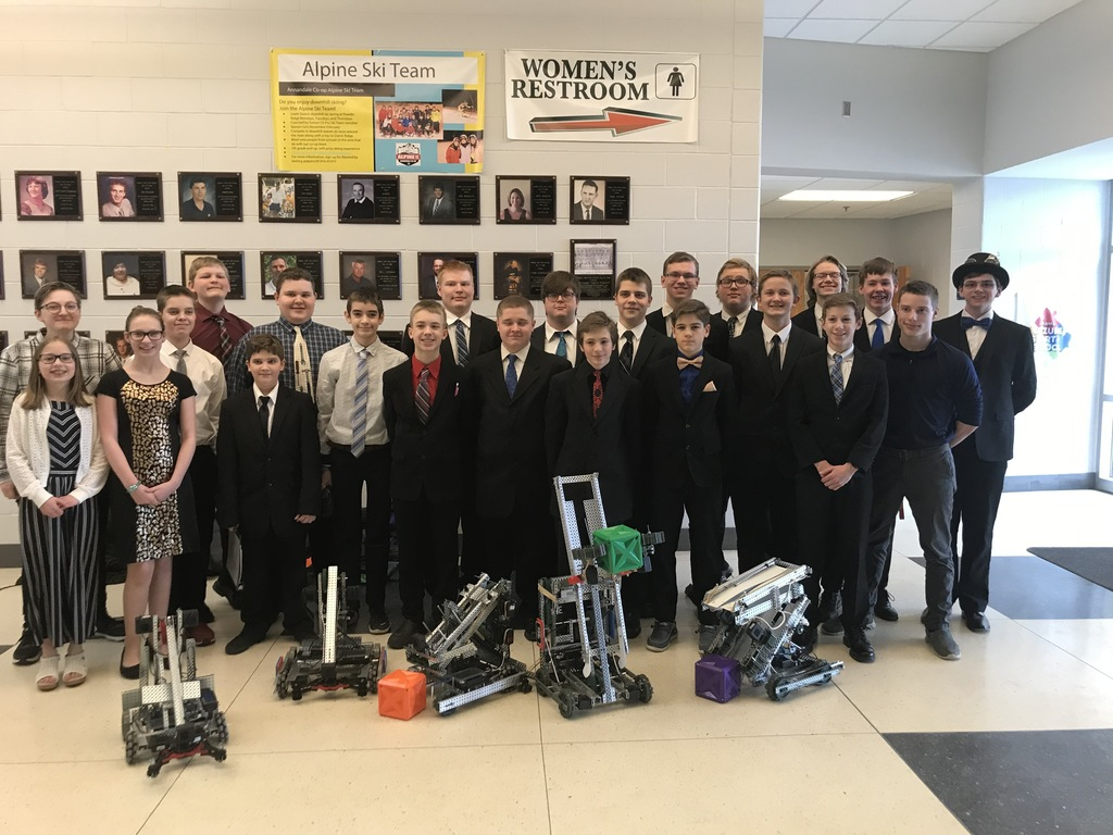 Robotics State Send-off