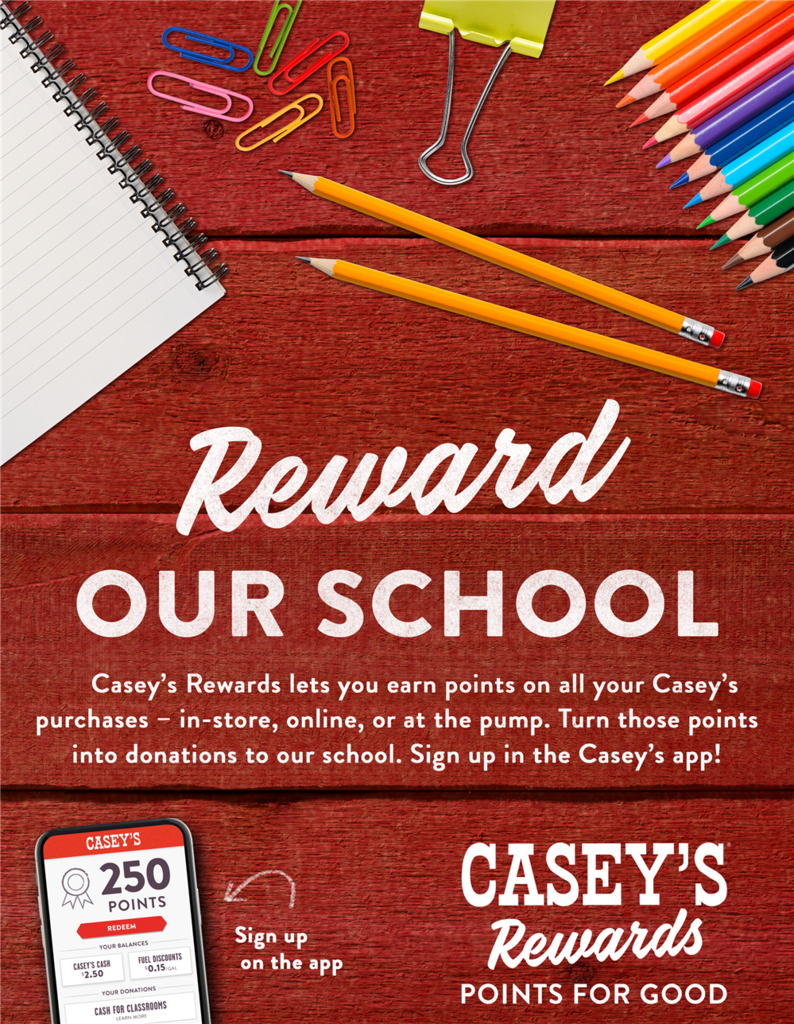 Casey's Cash for Classrooms