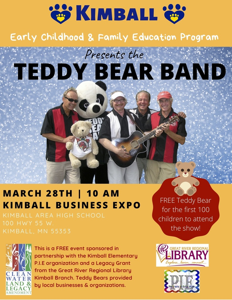 Teddy Bear Band Flyer